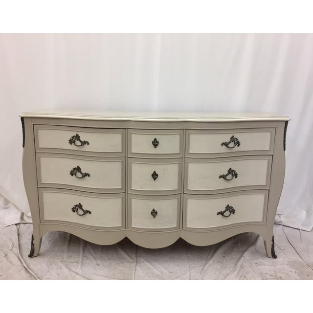 Vintage Hand Painted French Style Dresser - Image 2 of 11