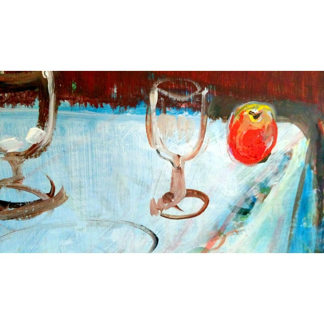 Mary Asher-Trautmann Tabletop Still Life Oil Painting - Image 5 of 8