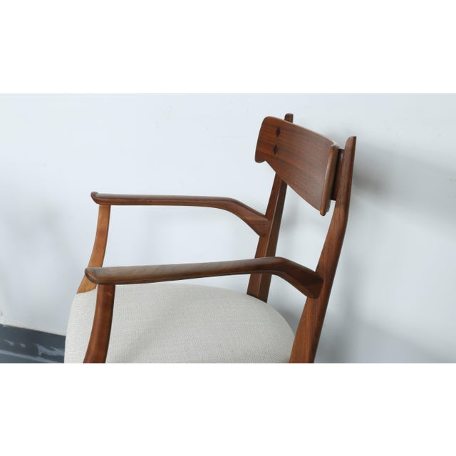 Kipp Stewart for Drexel set of 8 Dining Chairs - Image 5 of 11