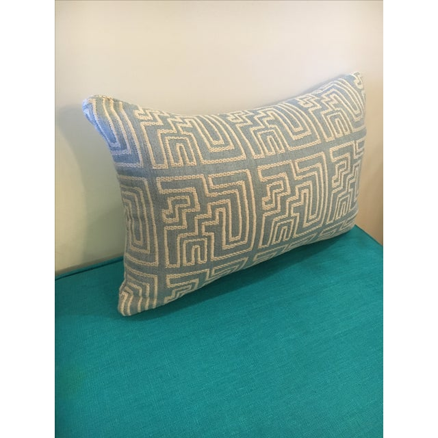 Contemporary Geometric Pillow - Image 3 of 3