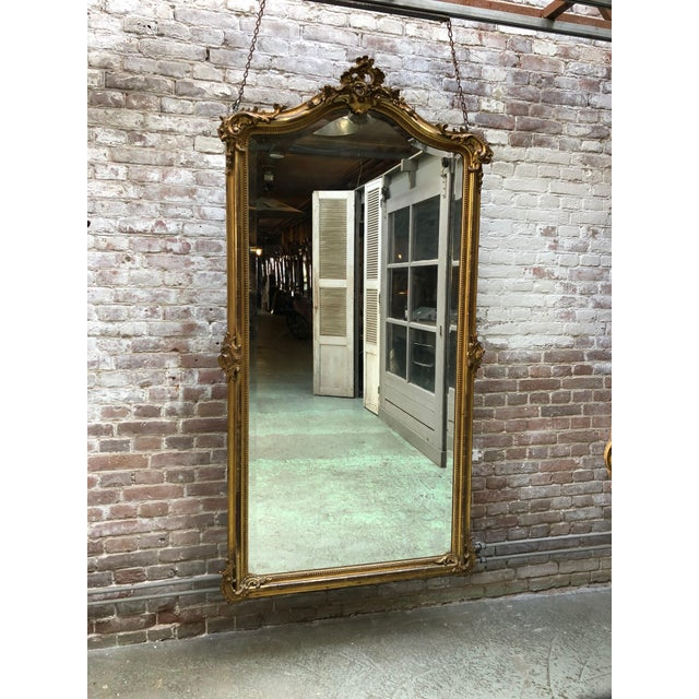 French 19th Century Mirror Style Louis XV For Sale - Image 6 of 7