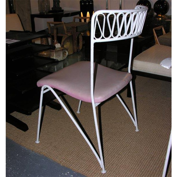 Tempestini for Salterini Wrought Iron Ribbon Chairs - Set of 14 For Sale In New York - Image 6 of 10