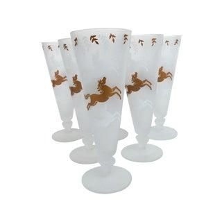 Horse Pilsner Glasses - Set of 6