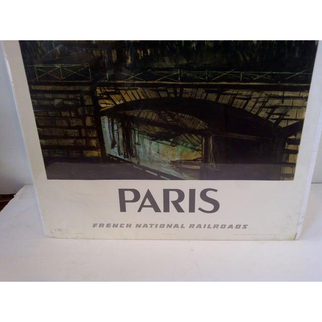 French National Railroad Print, Paris Circa 1967 - Image 5 of 9
