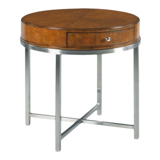 Woodbridge X-stretcher Squared Perry Lamp Table For Sale