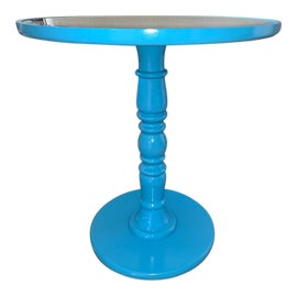 Image of Cornflower Blue Side Tables