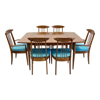 Vintage Mid-Century Broyhill Sculptra Dining Set For Sale