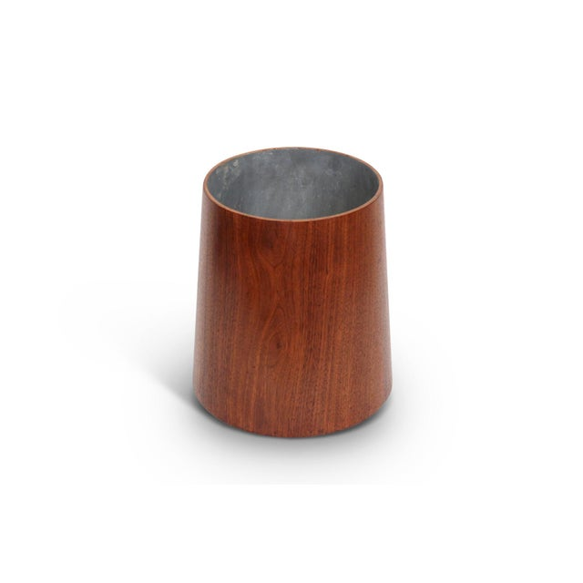 1960s Collection of Jens Risom Wastebaskets For Sale - Image 5 of 13
