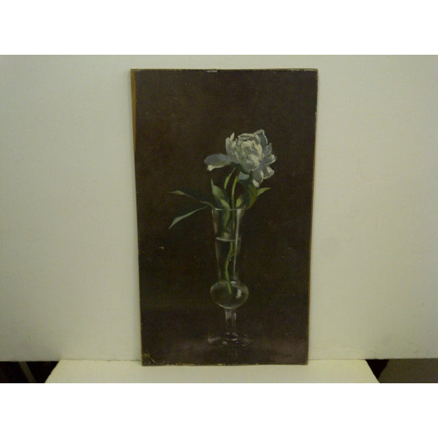 """Contemporary """"The Flower"""" Original Frederick McDuff Painting For Sale - Image 3 of 8"""