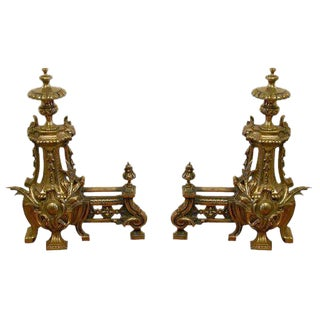 French Chenets/Andirons For Sale