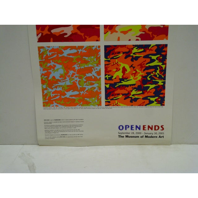 Open Ends Andy Warhol Poster The Museum of Modern Art For Sale - Image 4 of 5