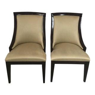 """1990s Vintage Bernhardt """"Satori"""" Chairs- A Pair For Sale"""