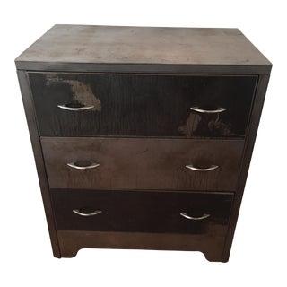 Vintage Art Deco Steel Dresser
