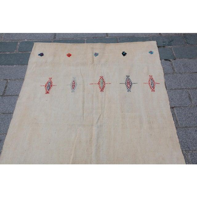 Anatolian Turkish Kilim - 10'11'' x 3'8'' - Image 4 of 11