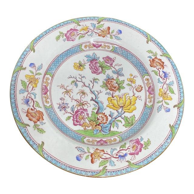 English Cauldron Dinner Plate For Sale