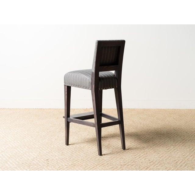 2010s Lee Industries August Bar Stool For Sale - Image 5 of 6
