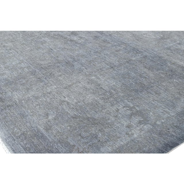21st Century Modern Overdyed Rug For Sale - Image 10 of 13