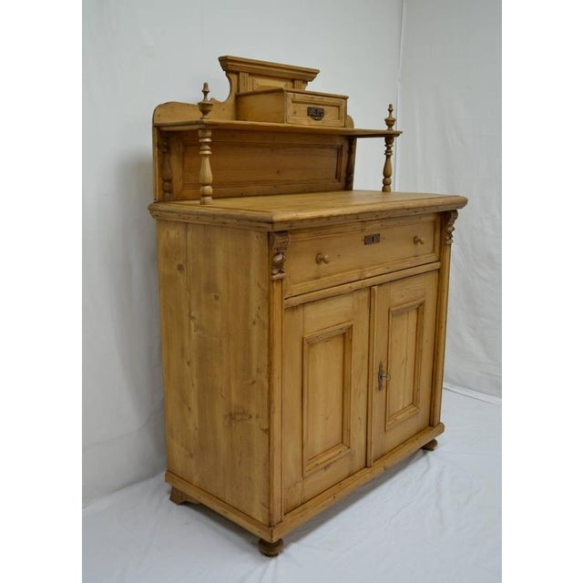 Country Late 19th Century Pine Chiffonier For Sale - Image 3 of 9