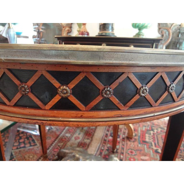 French 1940 French Louis XVI Style Maison Jansen Table For Sale - Image 3 of 8