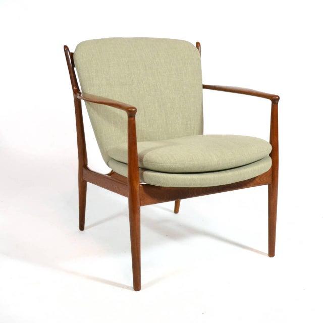 Danish Modern Finn Juhl Delegates Chair For Sale - Image 3 of 11