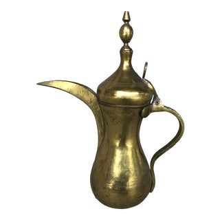 Turkish Brass Teapot For Sale