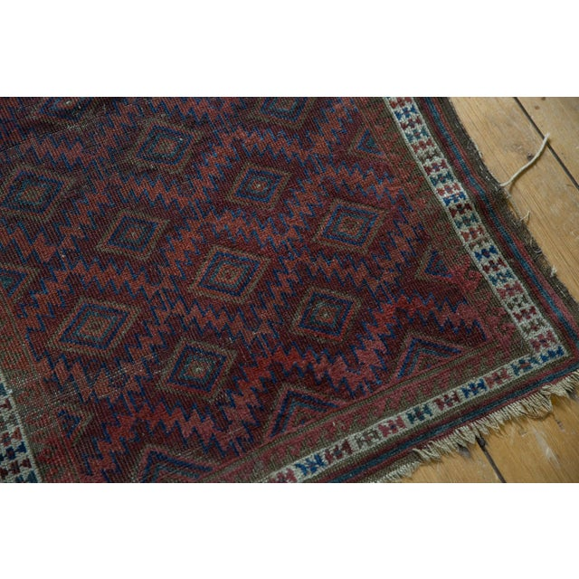 """1910s Antique Belouch Rug - 2'5"""" X 3'9"""" For Sale - Image 5 of 11"""
