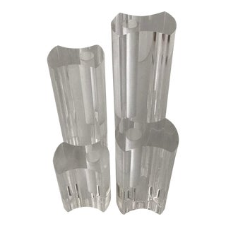 Candle Holders in the Style of Ritts of La- Set of 4 For Sale