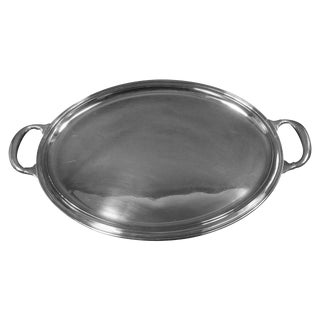 Buccellati Sterling Silver Italy Italian Tea Tray Hollowware For Sale