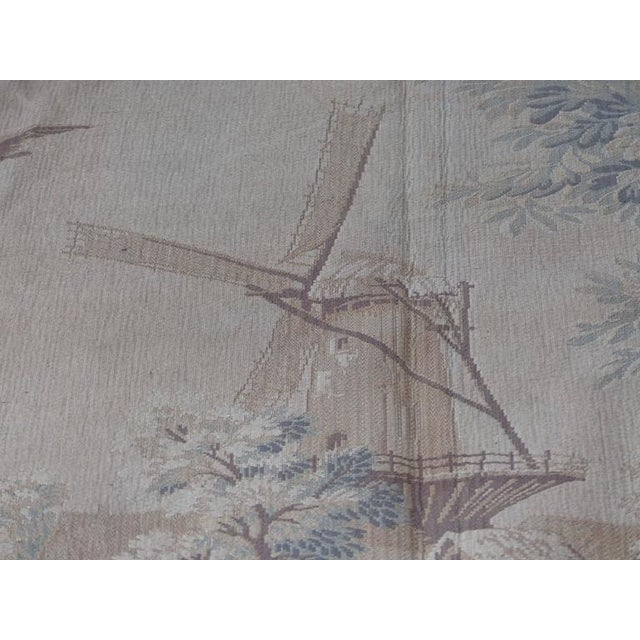 Tapestry Wall Hanging, circa 1920s from a Historic South Florida Home For Sale - Image 9 of 11