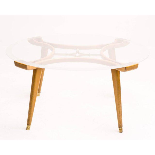 1950s Coffee Table in Walnut by William Watting for Fristho For Sale - Image 5 of 7