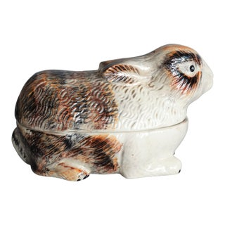 French Rabbit Covered Pâté Tureen