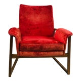 Image of Vintage Mid Century Finn Juhl Style Dynamic Design Chair For Sale