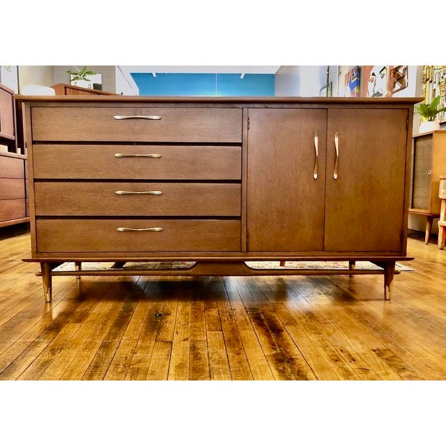 Mid Century Modern Lane Credenza 1950s For Sale - Image 13 of 13