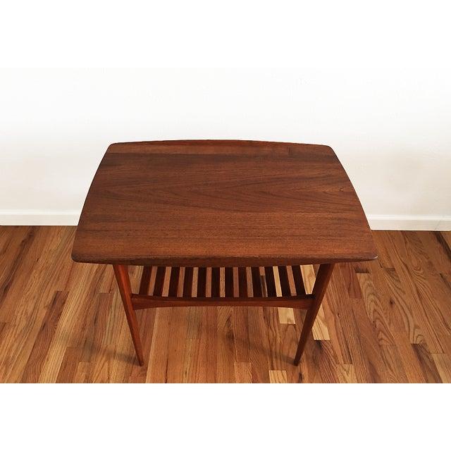 Tove & Edvard Kindt-Larsen 1960s Danish End Table For Sale In Denver - Image 6 of 9