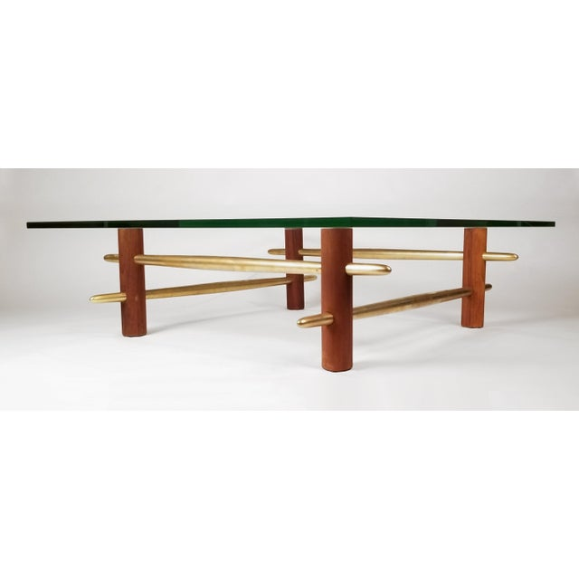 Chippendale Coffee Table, Model 1640 by t.h. Robsjohn Gibbings for Widdicomb For Sale - Image 3 of 6