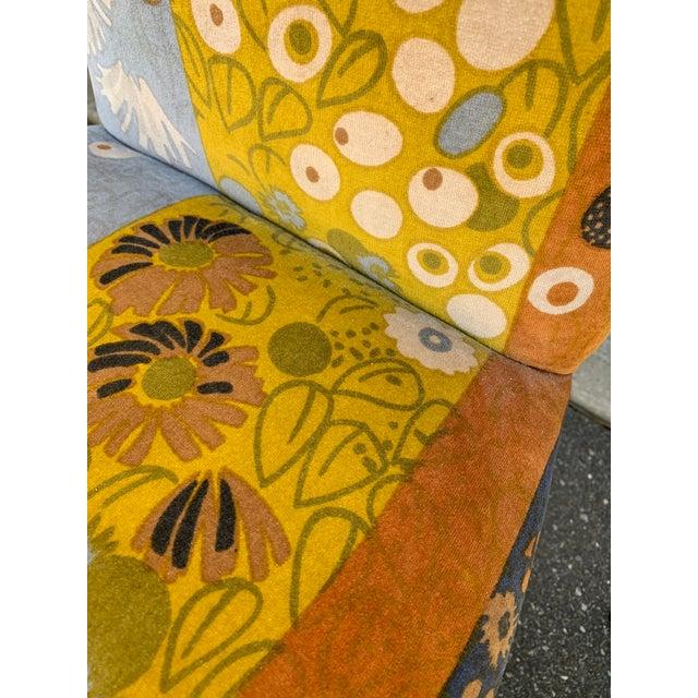 Jack Lenor Larsen Velvet Dining Chairs - Set of 4 For Sale - Image 10 of 12