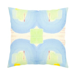"Kerri Rosenthal ""Seventeen"" 22x22 Pillow For Sale"