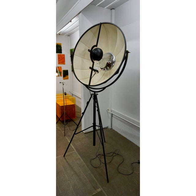 Lights Mario Fortuny Umbrella Floor Lamp by Pallucco For Sale - Image 7 of 8