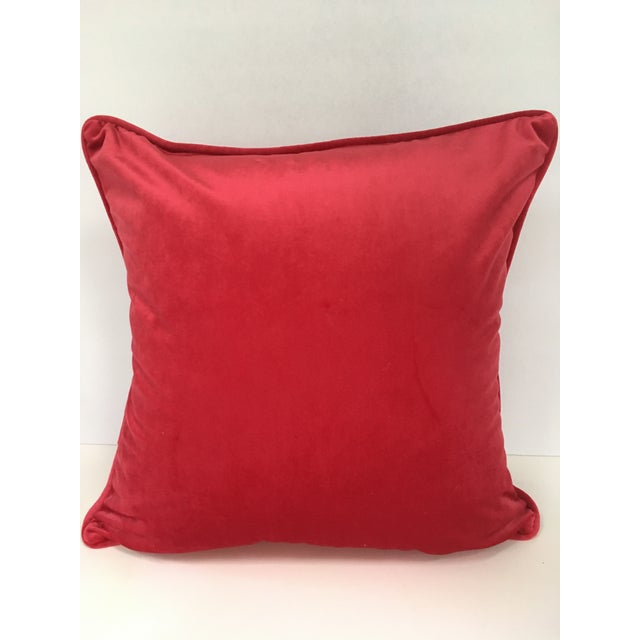 English Royal Horses Pillow Cover For Sale - Image 3 of 4