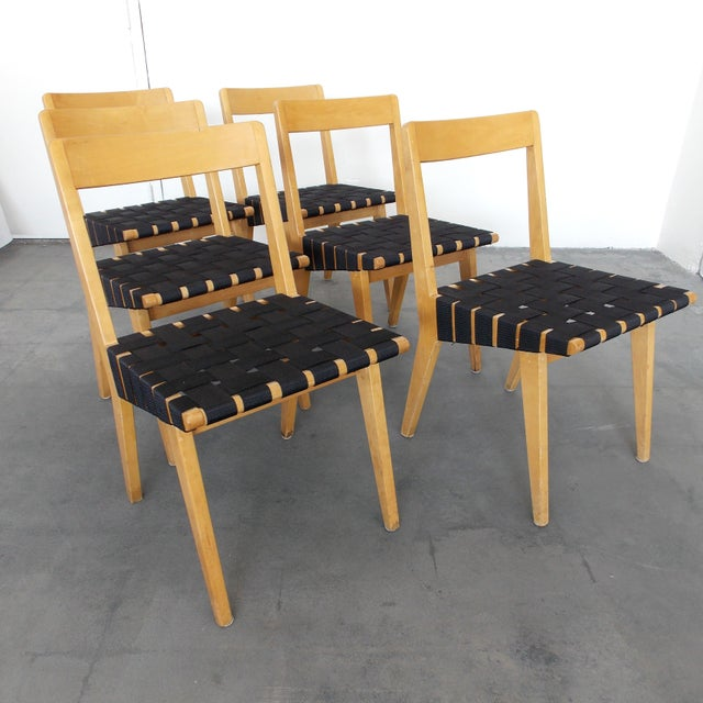 Jens Risom Side Chairs for Knoll - Set of 6 - Image 2 of 8