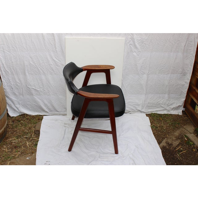 Erik Kirkegaard Mid-Century Danish Desk Chair - Image 6 of 7