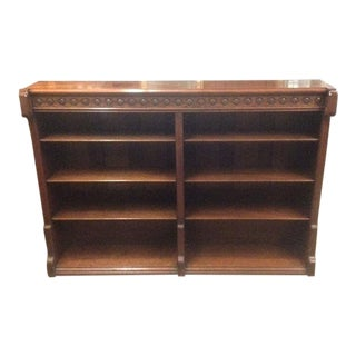 19th Century Victorian Mahogany Bookcase For Sale
