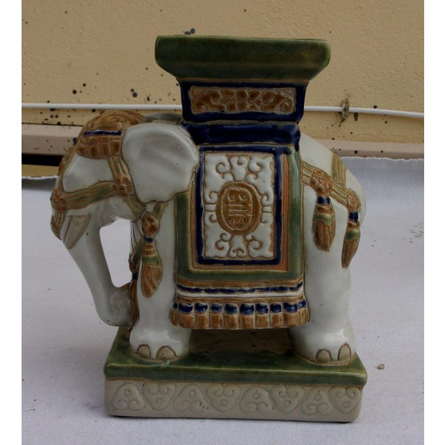 Vintage Porcelain Elephant For Sale In Miami - Image 6 of 6