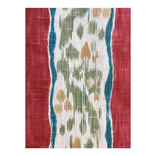 "Zoffany ""Rayure Chinee"" Print Fabric - 4 Yards For Sale"