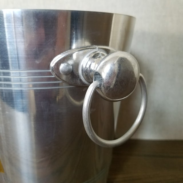 French Charles Heidsieck Champagne Ice Bucket For Sale - Image 4 of 7