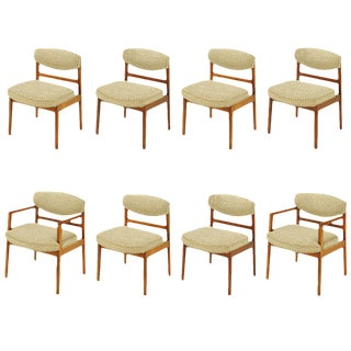 Eight George Nelson for Herman Miller Teak Dining Chairs For Sale