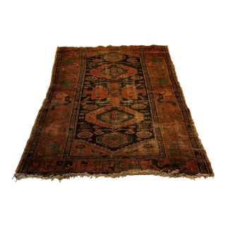 Antique Patterned Tribal Rug - 3′5″ × 5′8″