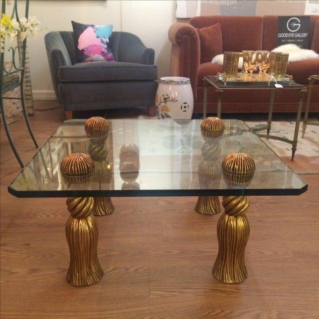 Phyllis Morris Tassel Cocktail Table - Image 8 of 8