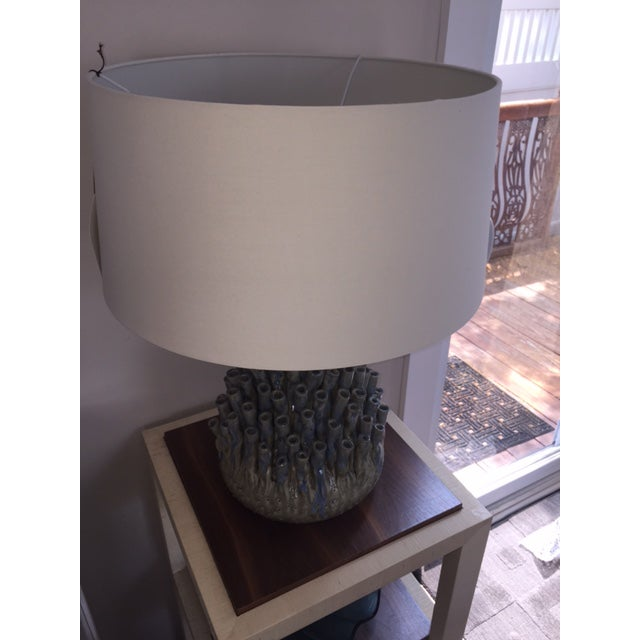 Sea Anemone Ceramic Table Lamp For Sale - Image 4 of 4