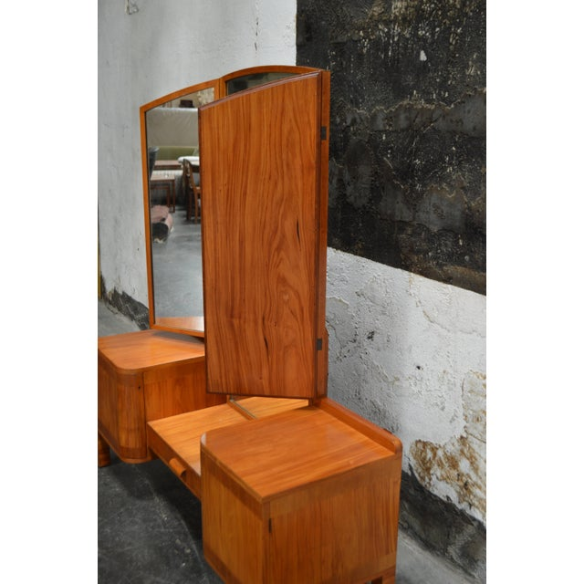 Swedish Art Deco Dressing Table Vanity For Sale - Image 9 of 11